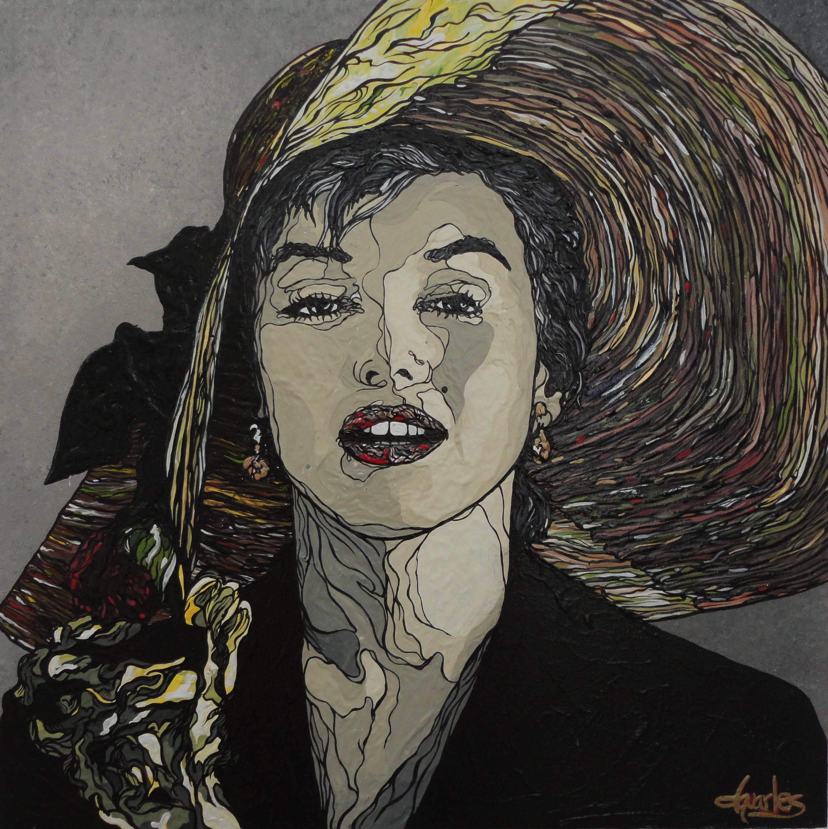 Marilyn VII, acrylic on canvas. $1800